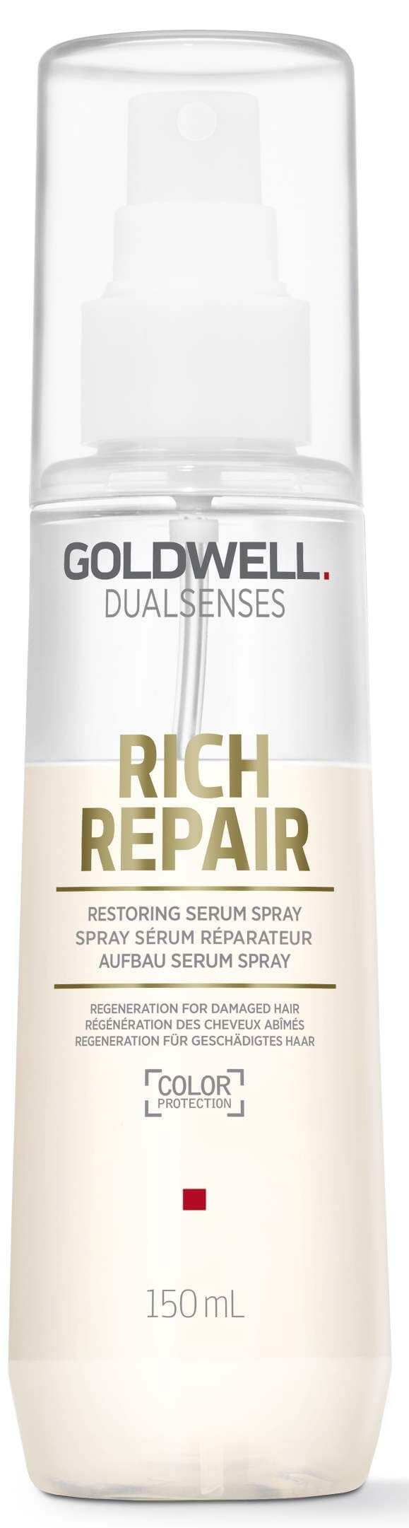 Dualsenses Rich Repair Restoring Serum Spray.