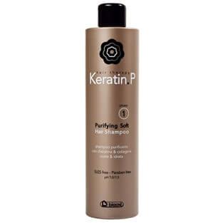 keratine p. anti age shampoo phase 1.